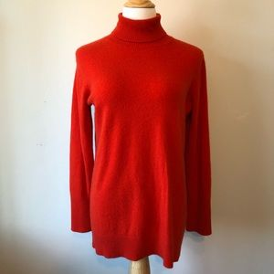 NORDSTROM COLLECTION -Red Cashmere Turtleneck -XL
